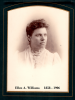 Ellen A. Williams married Hamilton Groves